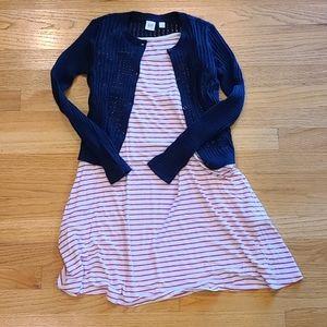 GAP Sweater Cardigan & Rumi + Ryder Dress Set